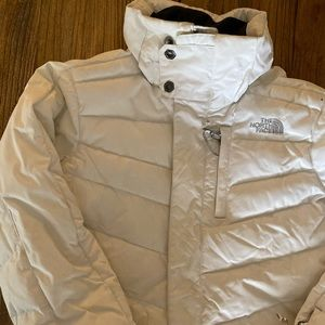 North Face Women's White Winter Jacket